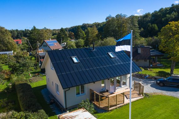 Our Solar Roof in Suurupi