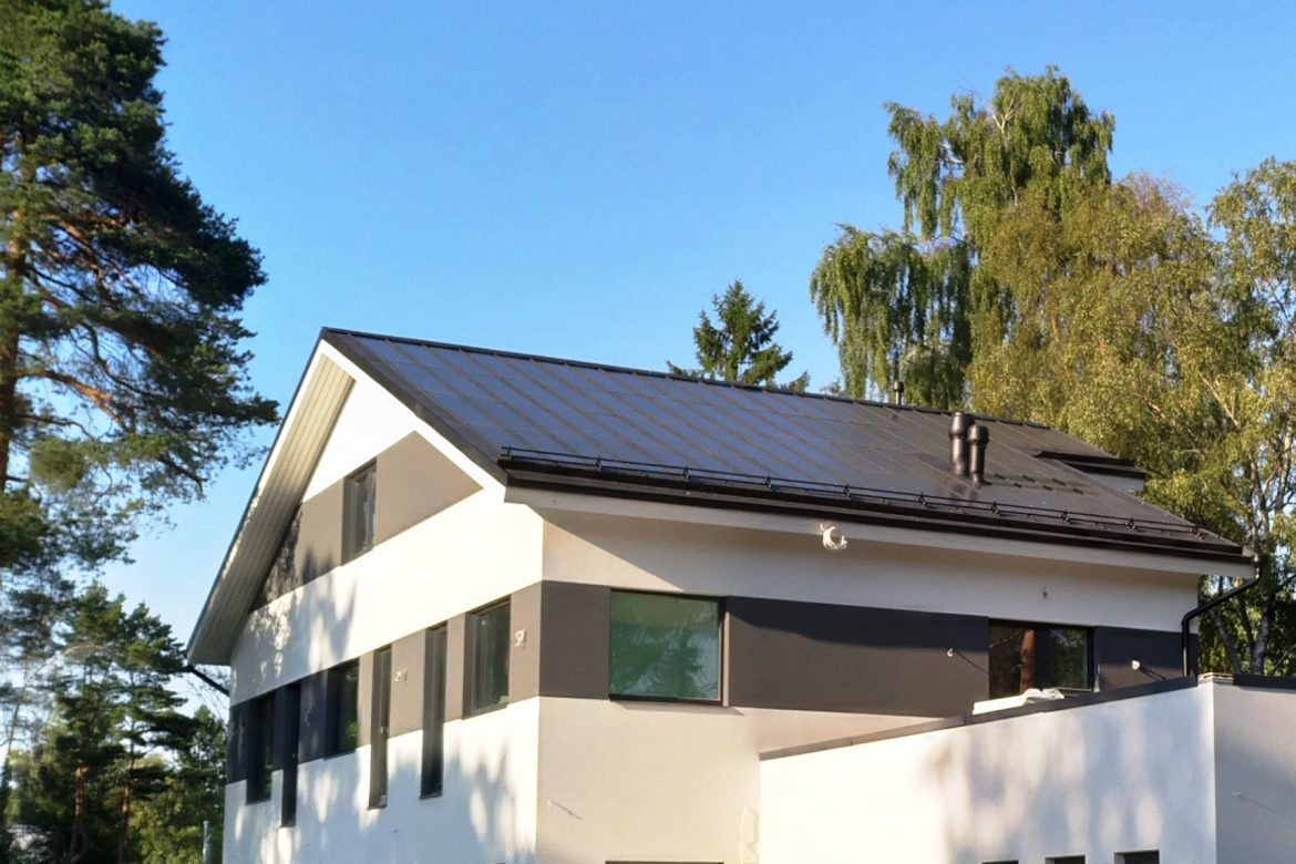 Our Solar Roof in Tallinn