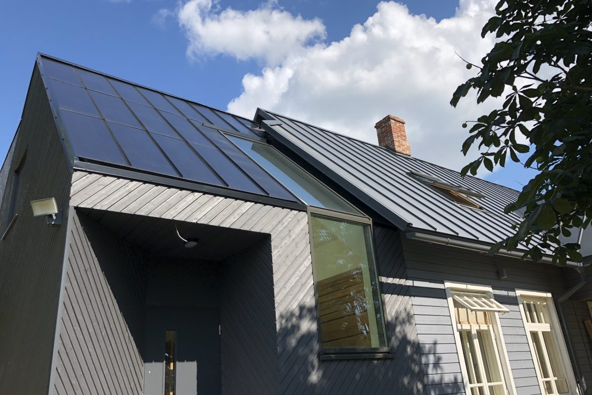Our Solar Roof in South Estonia