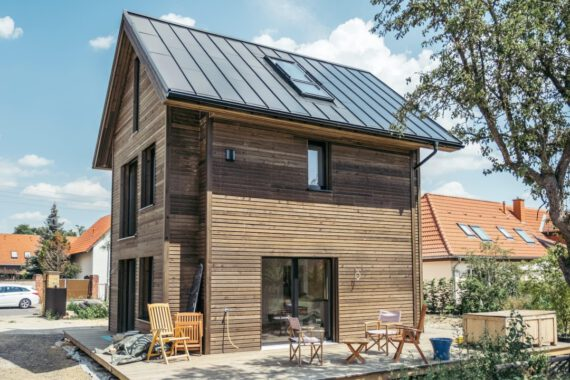 SmartSmallHouse with Roofit.solar roof_
